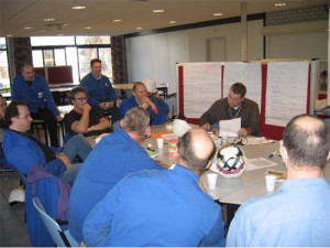 Lean Green Belt Training Bouw